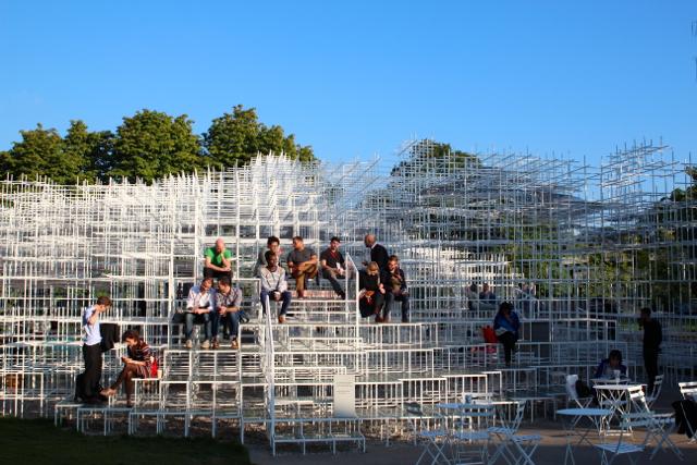 Fujimotos Installation in der Serpentine Gallery