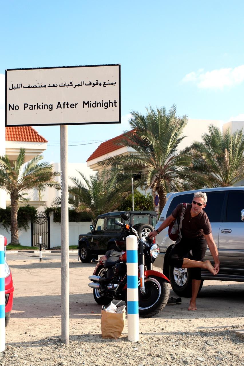 strickte Regeln für Parkplätze...