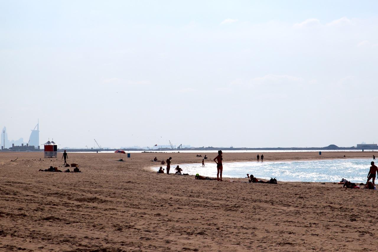 am Jumeirah-Strand