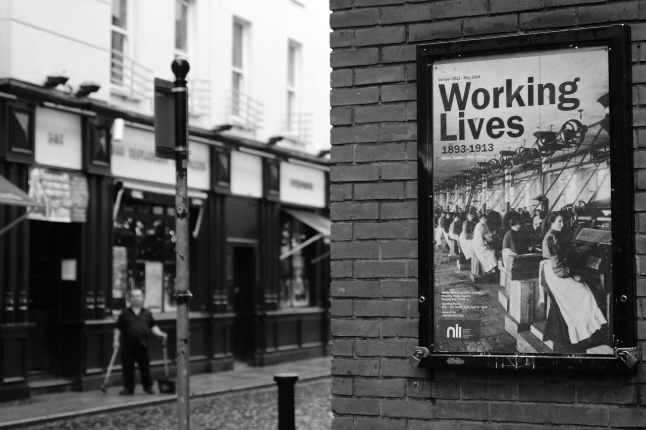 Ausstellung in Dublin