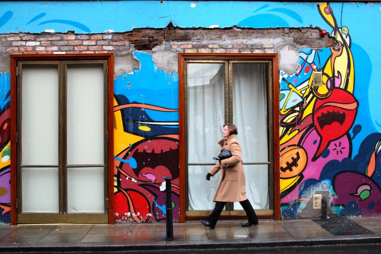 Graffitti in Temple Bar