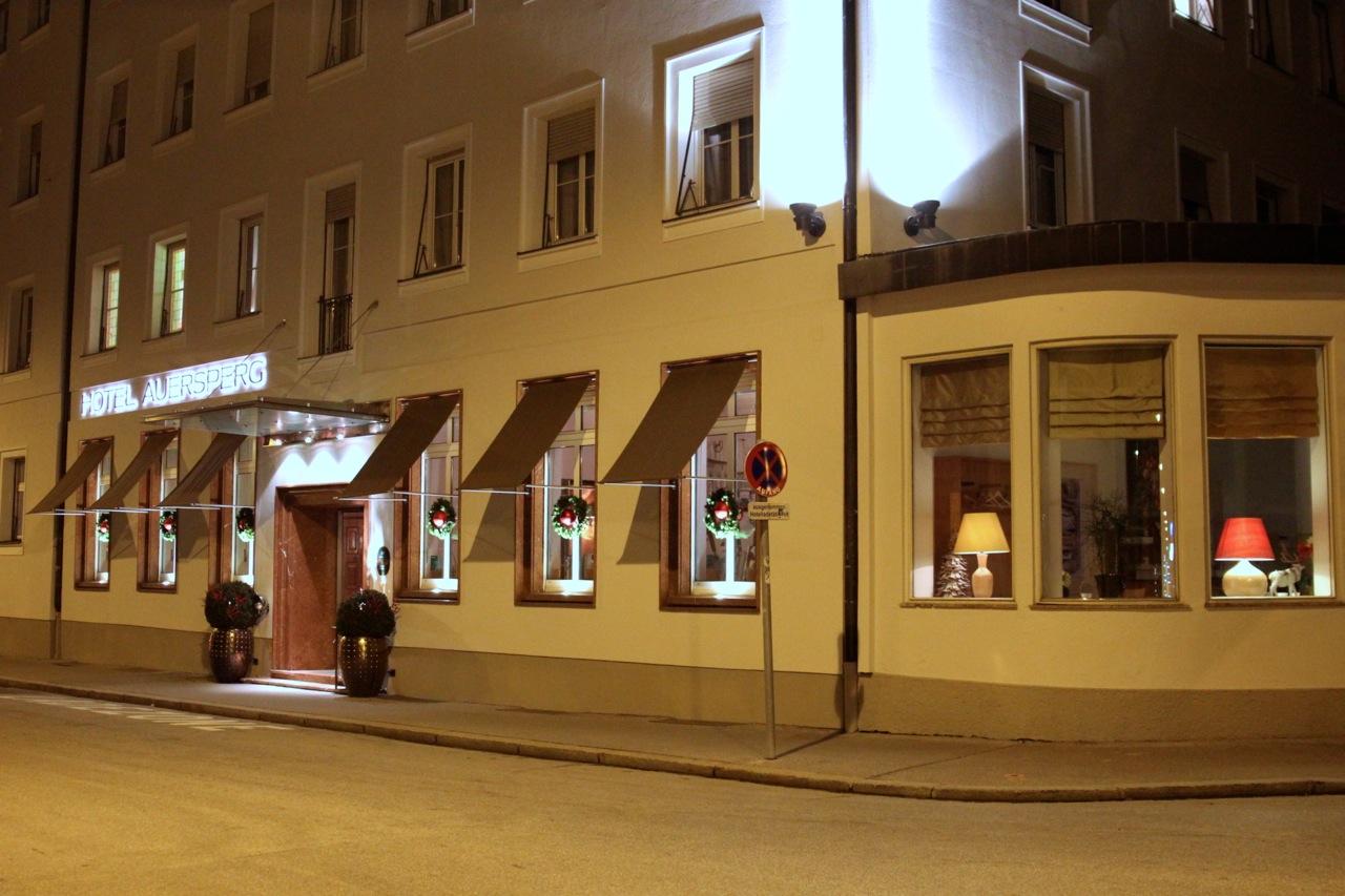 das Hotel Auersperg