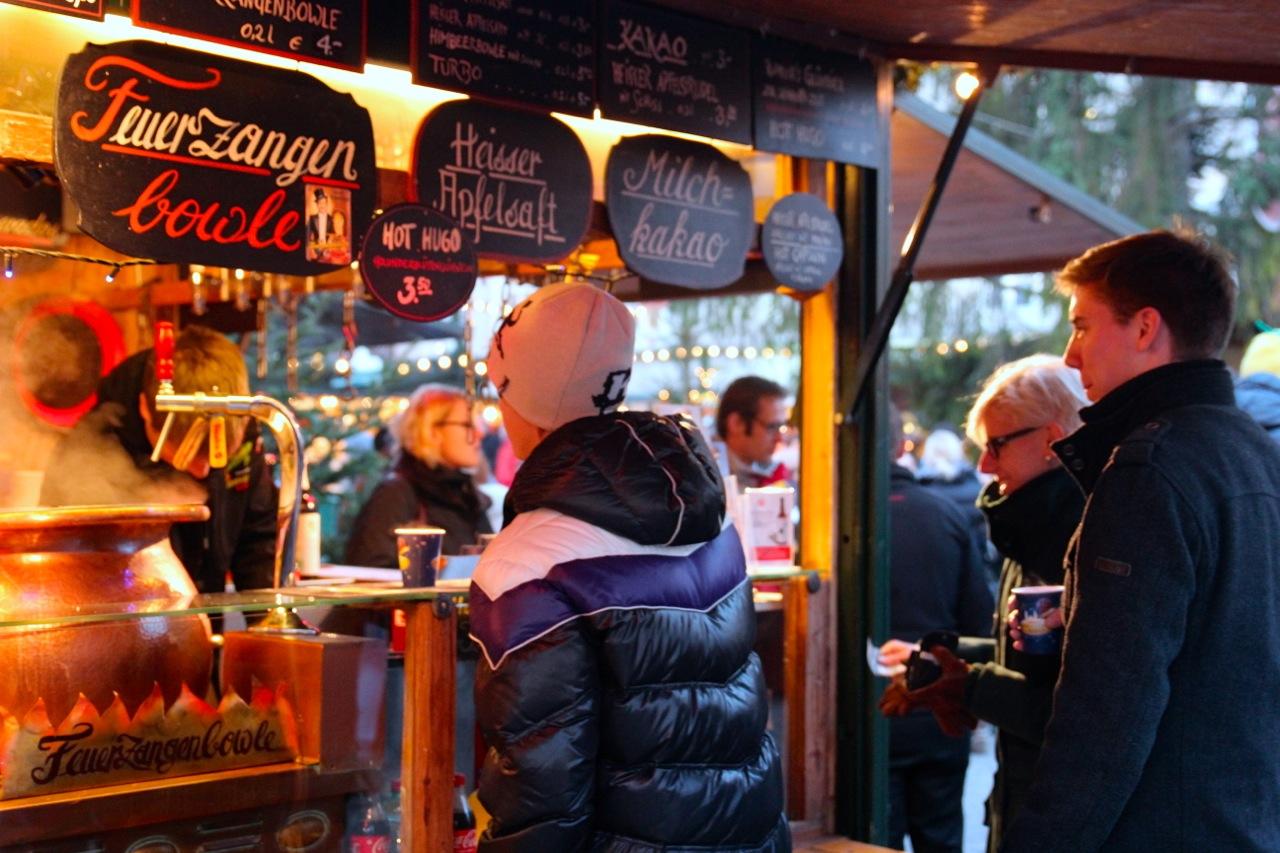 Glühwein auf dem Salzburger Christkindl Markt