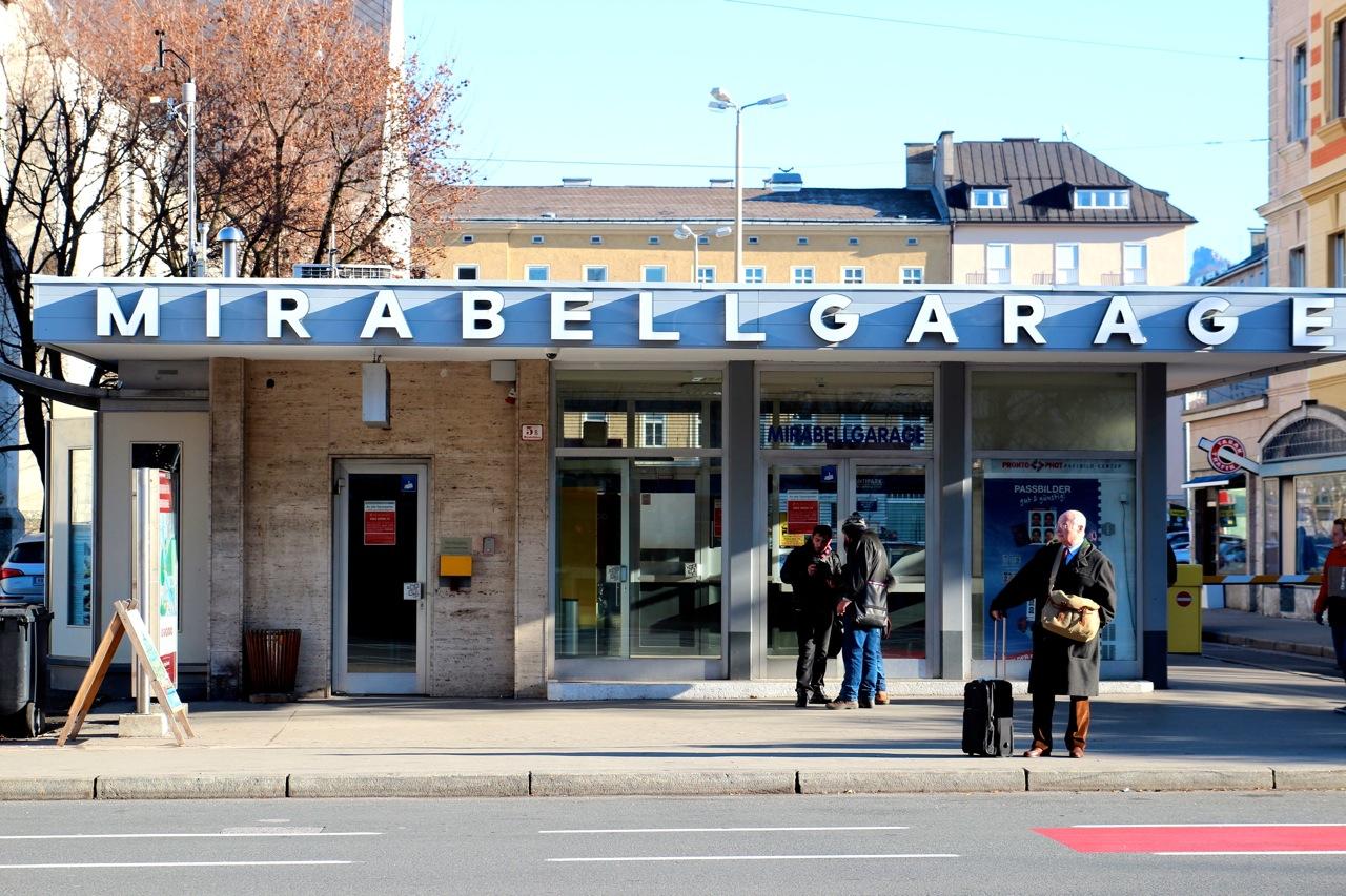 Mirabellgarage in Salzburg