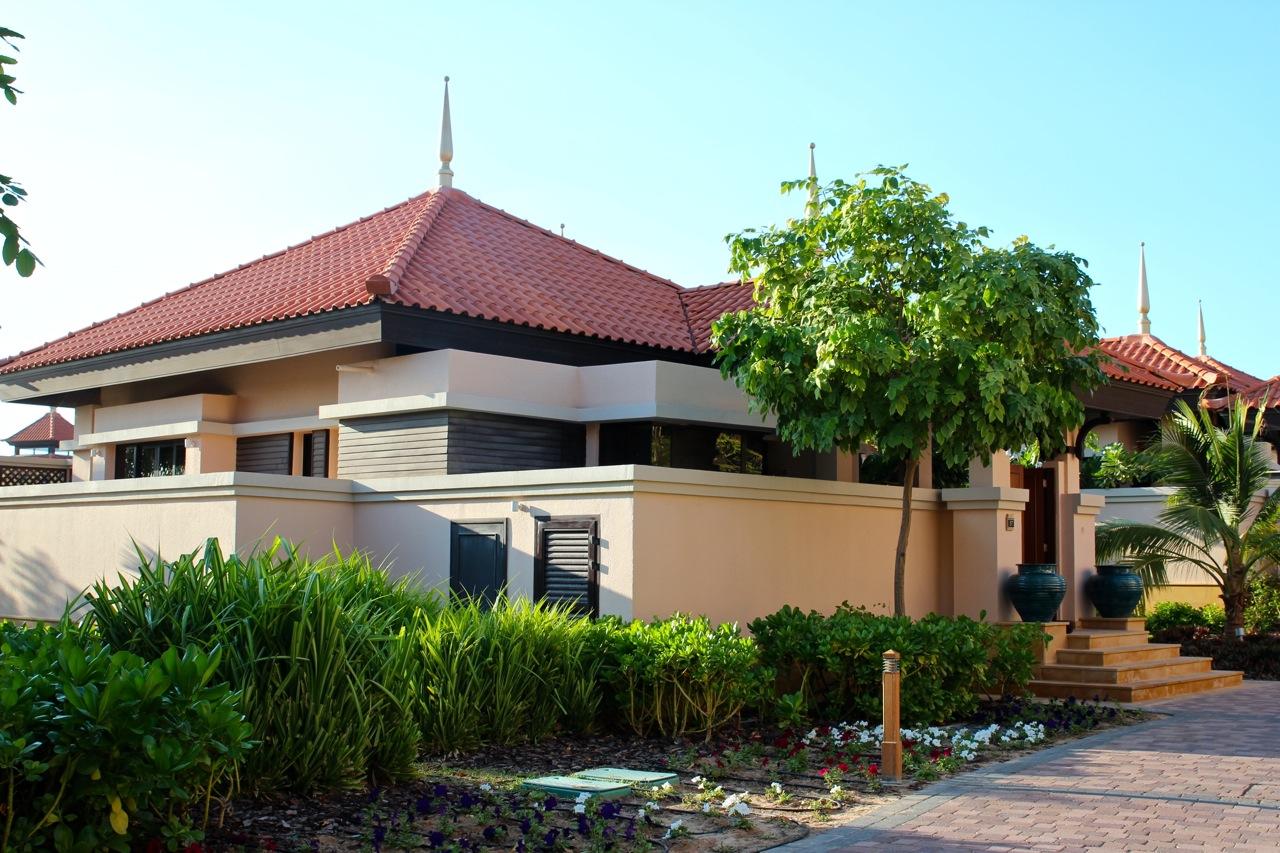 unsere Villa im Ananatara Hotel auf the Palm
