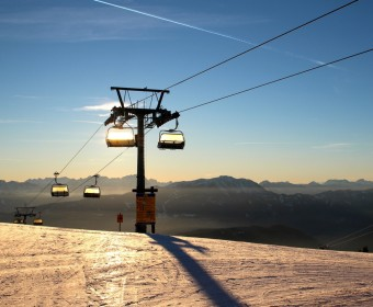 Skilift an der Gereizten Alpe