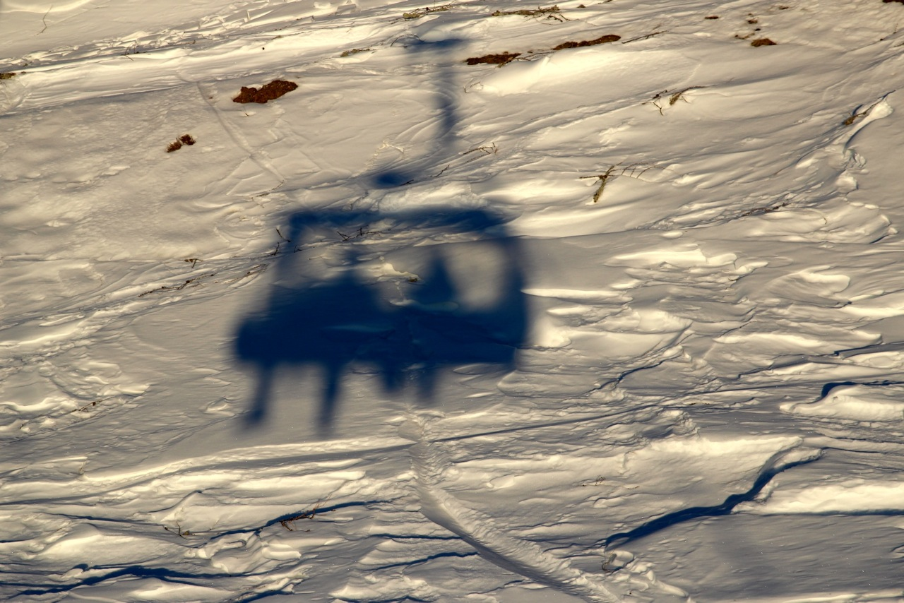 glücklich nach unserer Skistunde machen wir uns auf den Weg zurück ins Hotel
