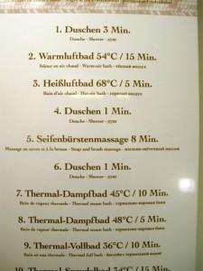 Baden-Baden– das Friedrichstadt, Anleitung für den Ablauf