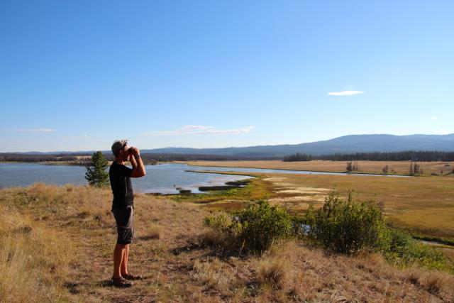 Dirk am Tunkwa Lake