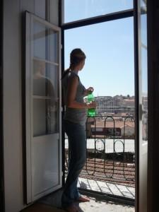 Wohnung in Lissabon mit Blick über die Stadt
