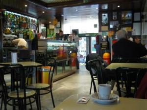 Café in Lissabon
