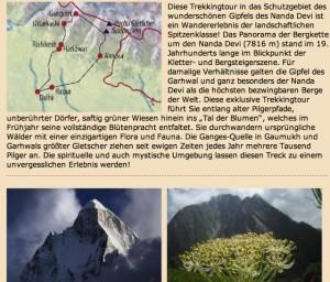 Garhwal Diamir Trekkin-Route
