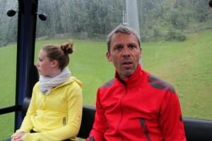 Judith und Dirk in der Geislachkogelbahn