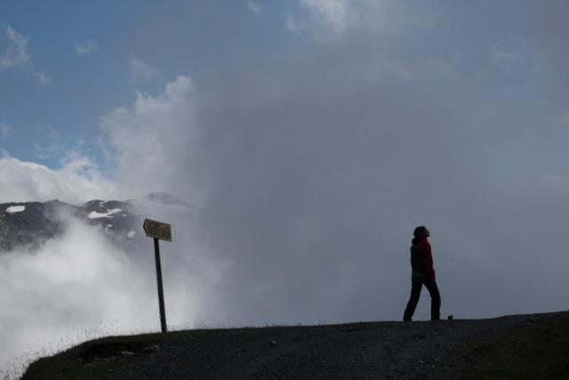 Zwischen Nebel-Wolken
