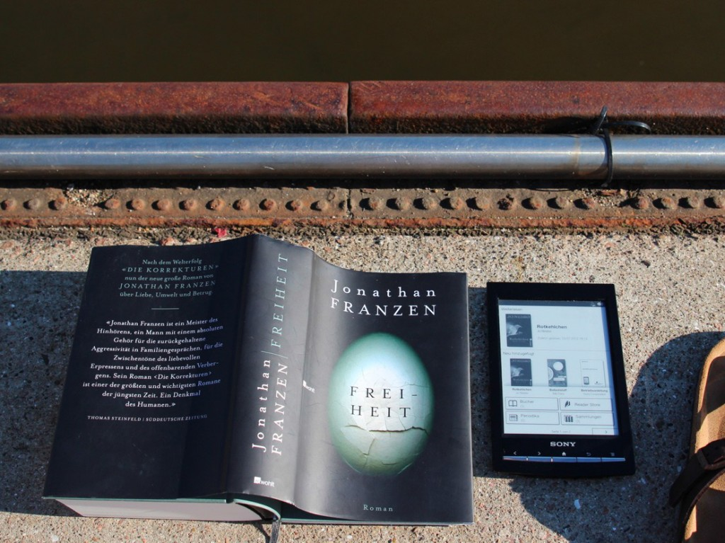 Buch gegen Reader