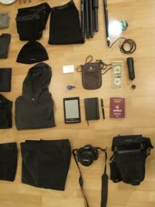 Packen für 5 Monate Weltreise
