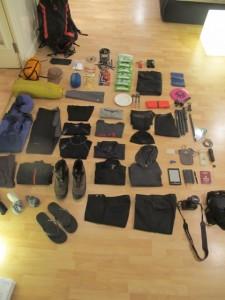 Packen für 5 Monate