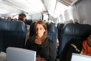 Wie viele Filme schafft man auf dem Flug von Frankfurt nach Calgary