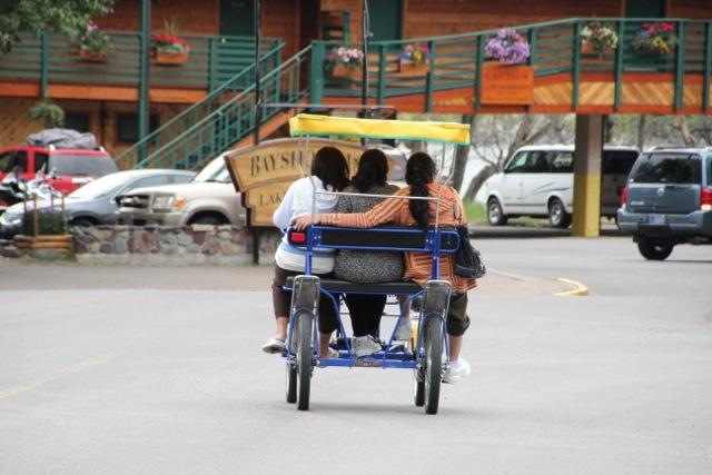 Spaß auf dem Vierrad