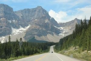 endlose Strassen in Alberta