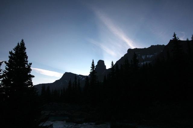 Morgengrauen im Fryatt Valley