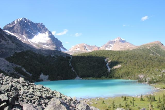Gletschersee am Fuß des Mount Olympus