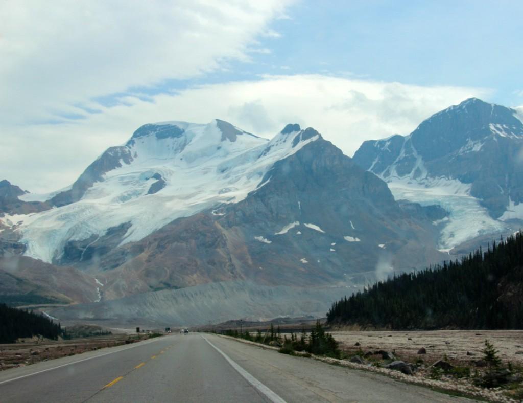 der Icefields Park Way – unsere Route für die nächsten Tage