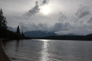 Der Camground Lakelse Lake liegt direkt am See