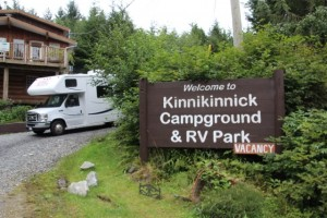 Kinnikinnick Campground in Port Edward