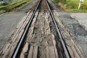 Schienen, Schienen und noch mehr Schienen