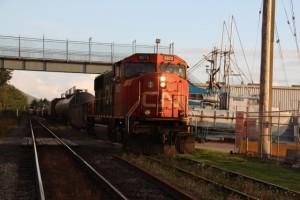 Treffen am Güterzug