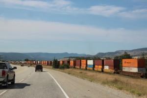 Lange Strassen und lange Züge