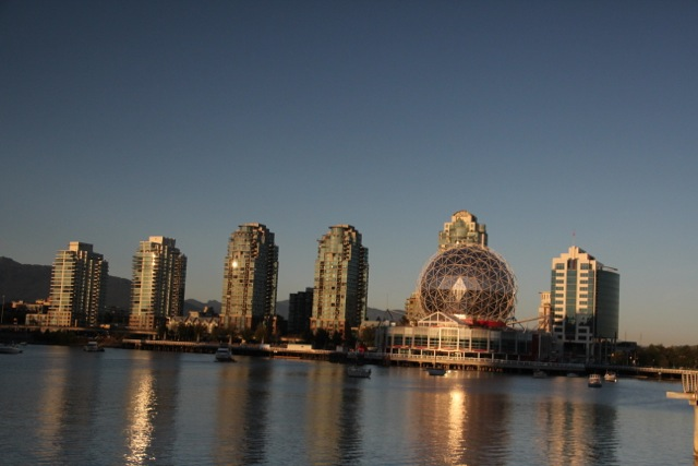 Abendstimmung in Vancouver