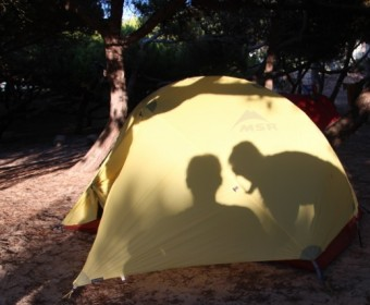 Sommer in Portugal verbringt man auf dem Zeltplatz