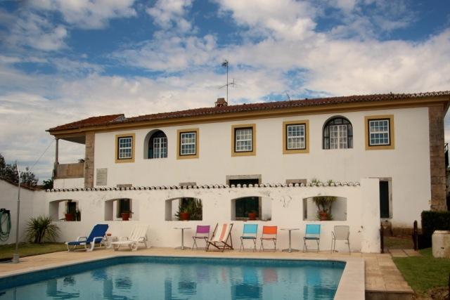 die Quinta de Santa Bárbara bei Constância