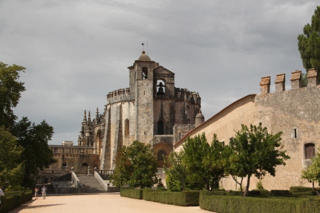 die Burg der Chrstusritter in Tomar