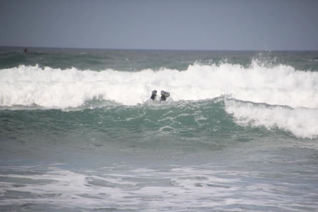 ab über die erste Welle