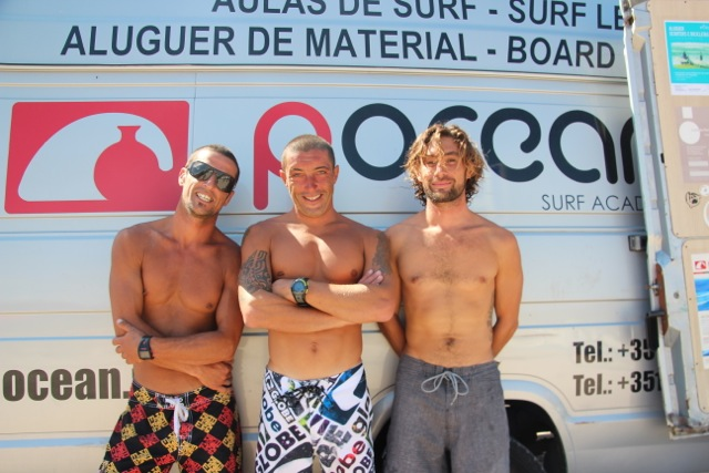 "Die Jungs der Surf-Academy ""Pocean"""