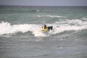 Dirk nimmt die Welle
