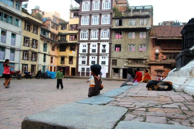 Hinterhof in Kathmandu