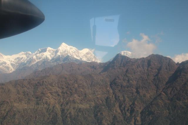 Vielleicht einer der schönsten Flüge der Welt: zum Greifen nah – der Himalaya