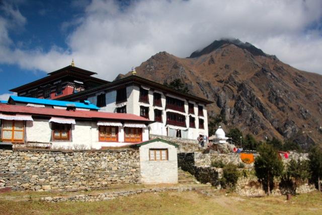 das Kloster von Tengboche
