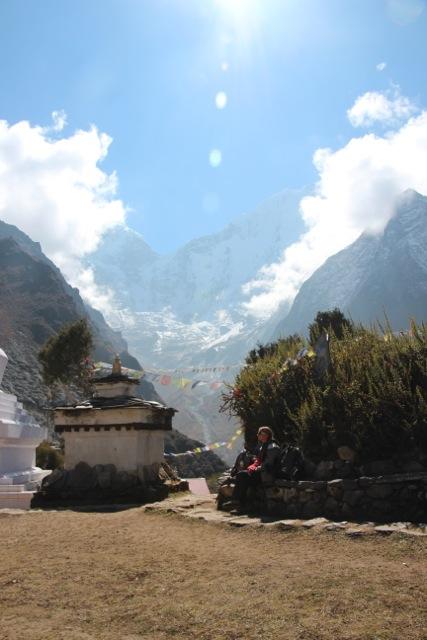 Der Eingang zum Kloster in Tengboche