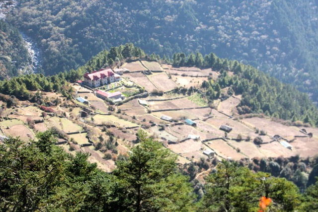 die Summit-Lodge in Tashinga