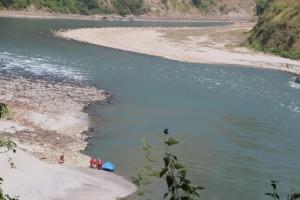 Rafting am Fluss Trisuli