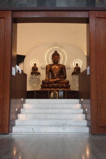 Buddha im Lotussitz