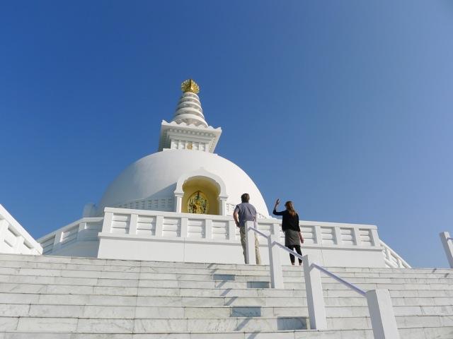 Die von Japan errichtete World-Peace-Pagoda