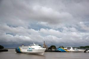 Fähre über den Rio de la Plata