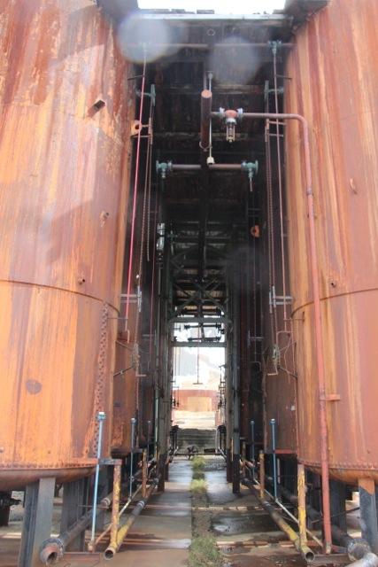 Industrieruine des Walfangs