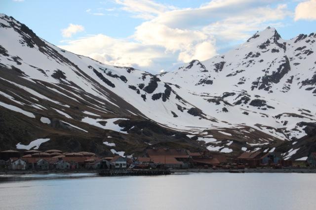 In Grytviken begann der industrielle Walfang auf Südgeorgien
